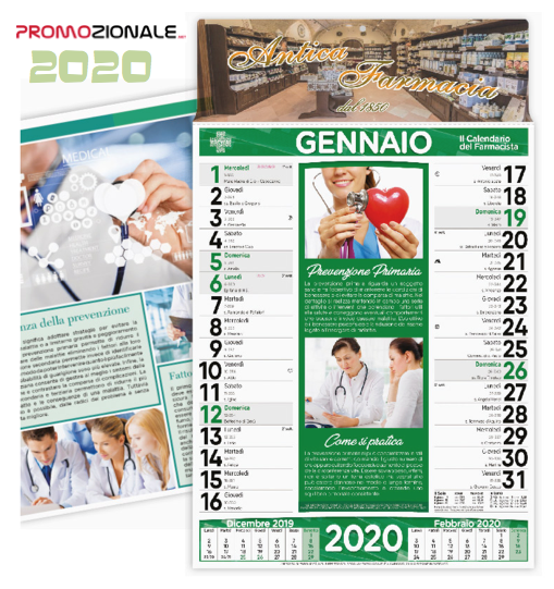 Calendario da muro FARMACIA mod. RC-154